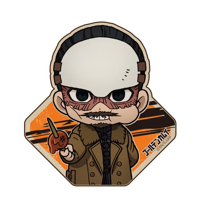 ゴールデンカムイ ウッドクリップ(安全ピン付) 鶴見中尉