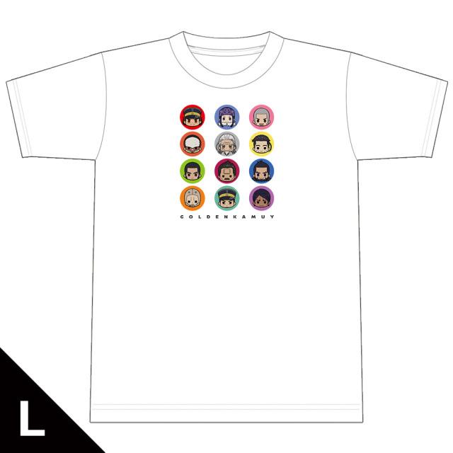 ゴールデンカムイ ちゅるキャラTシャツ Lサイズ