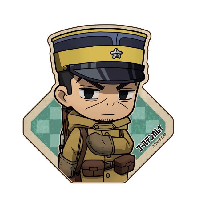 ゴールデンカムイ ウッドクリップ(安全ピン付) 月島軍曹