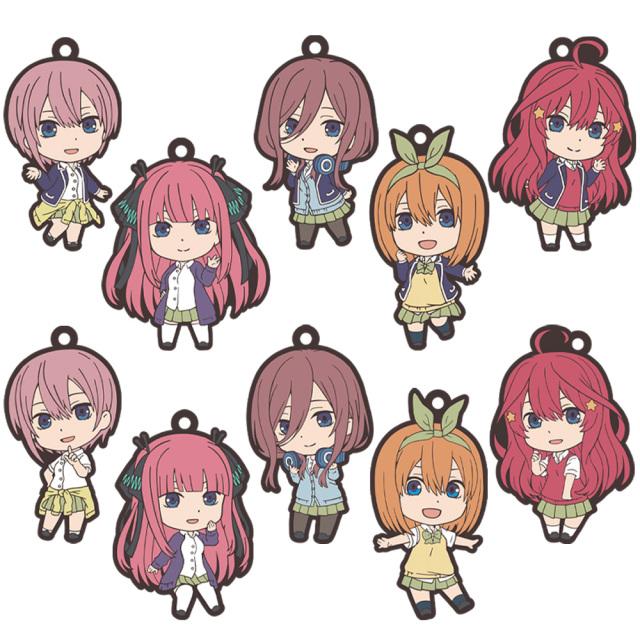五等分の花嫁 ラバーストラップコレクション(1pcs)