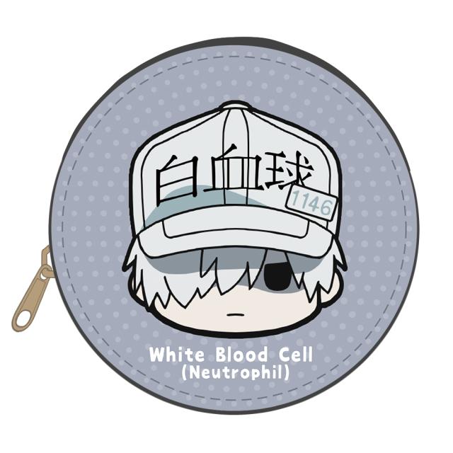 はたらく細胞!! ちゅるキャラレザーケースB[白血球(好中球)]