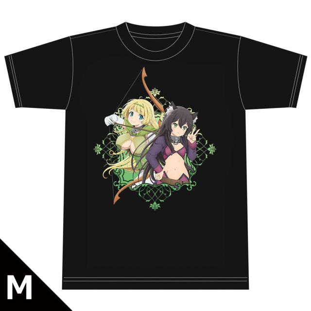 異世界魔王と召喚少女の奴隷魔術Ω Tシャツ[シェラ&レム] Mサイズ
