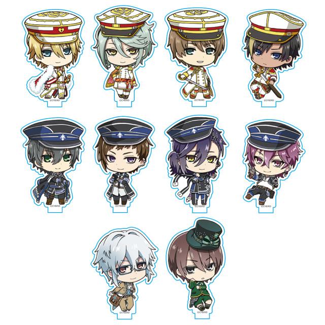 イケメン革命◆アリスと恋の魔法 アクリルスタンドコレクション(BOX)