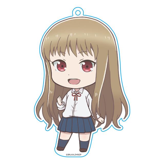 女子高生の無駄づかい ぷにこれ!キーホルダー(スタンド付) 百井咲久(ロリ)
