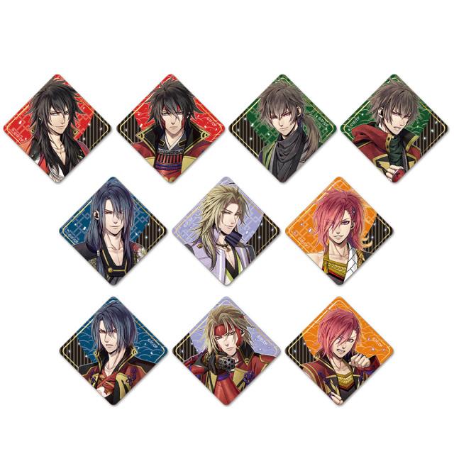 真紅の焔 真田忍法帳 トレーディングウッドバッジ(BOX)