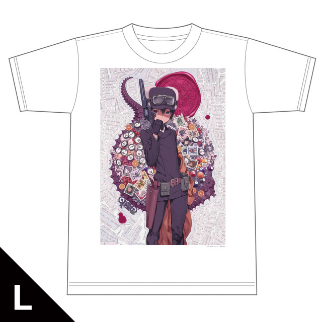 キノの旅 -the Beautiful World- the Animated Series Tシャツ Lサイズ