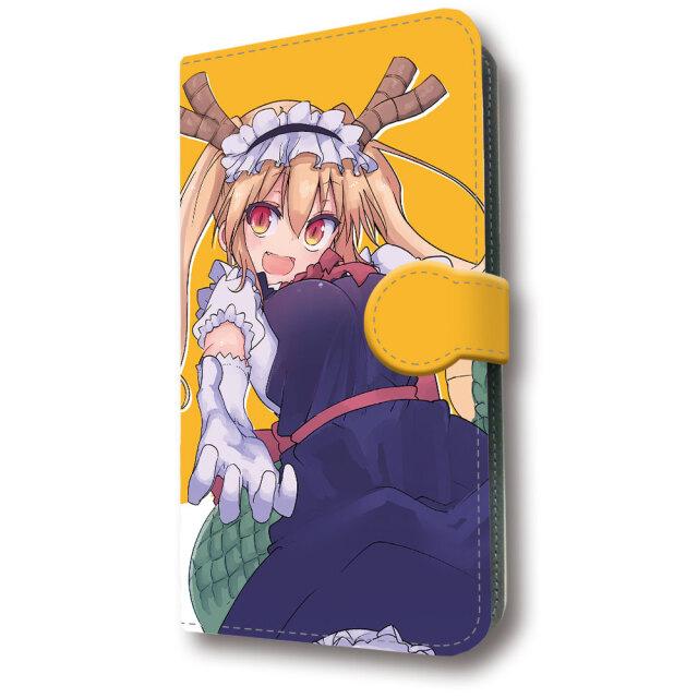 小林さんちのメイドラゴン 手帳型スマートフォンケース
