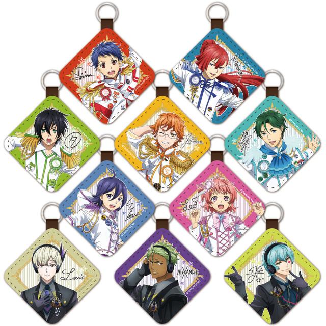 KING OF PRISM -Shiny Seven Stars- レザーキーチェーンコレクション(BOX)