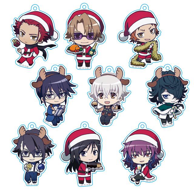 【AGF2018】K SEVEN STORIES トレーディングアクリルチェーン クリスマスVer. (BOX)