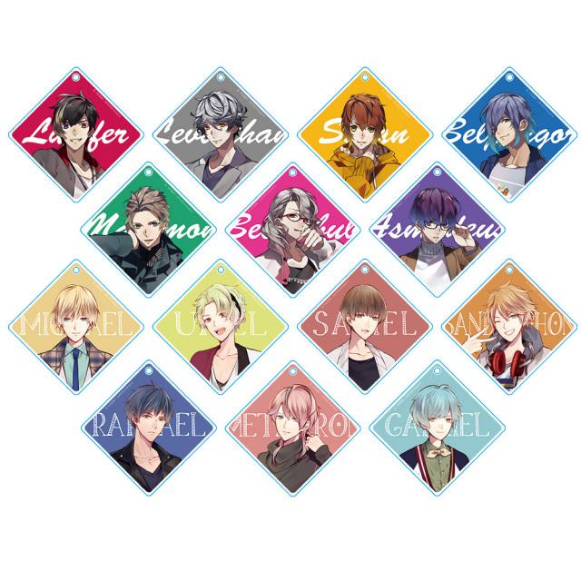 魔王さまをプロデュース!~七つの大罪 for GIRLS~ トレーディングアクリルチェーン(BOX)