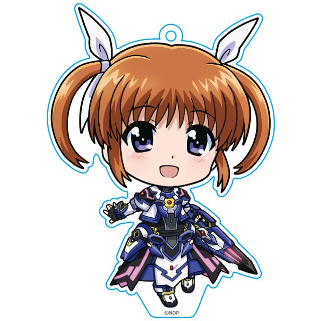 劇場版 魔法少女リリカルなのは Detonation  ぷにこれ!キーホルダー(スタンド付) なのは