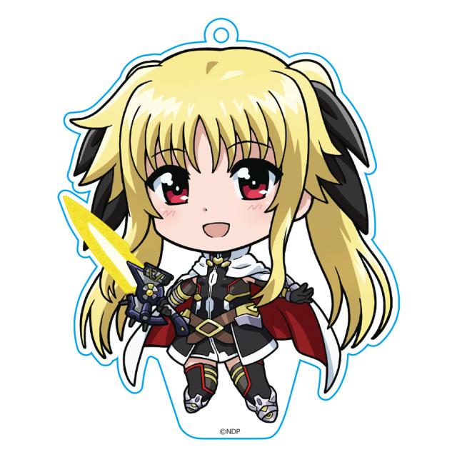 劇場版 魔法少女リリカルなのは Detonation  ぷにこれ!キーホルダー(スタンド付) フェイト
