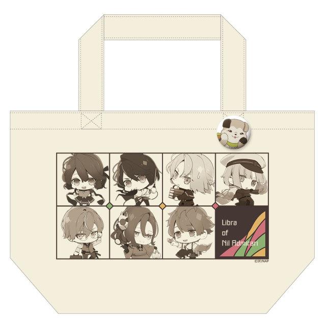 TVアニメ「ニル・アドミラリの天秤」 缶バッジ付トートバッグ