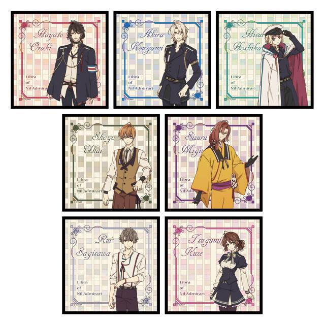 TVアニメ「ニル・アドミラリの天秤」 ハンドタオルコレクション(BOX)