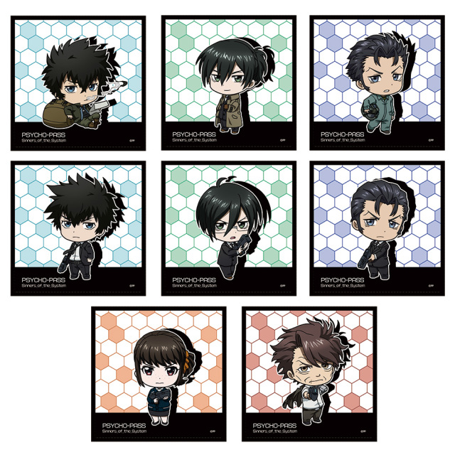 PSYCHO-PASS サイコパス Sinners of the System ハンドタオルコレクション(BOX)