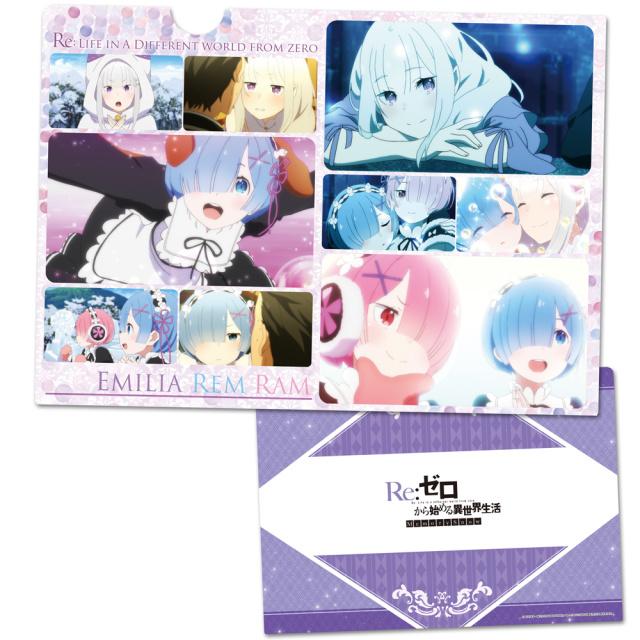 OVA Re:ゼロから始める異世界生活 Memory Snow クリアファイルA