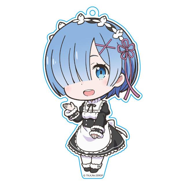 OVA Re:ゼロから始める異世界生活 Memory Snow ぷにこれ!キーホルダー(スタンド付) レム