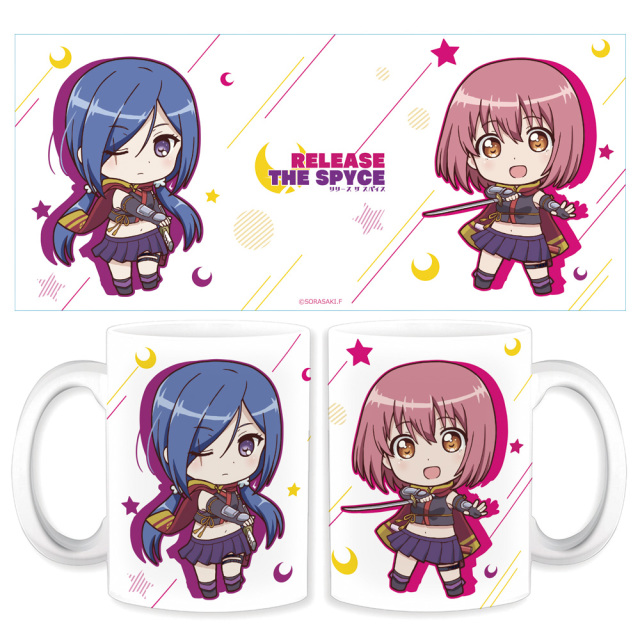 RELEASE THE SPYCE マグカップ