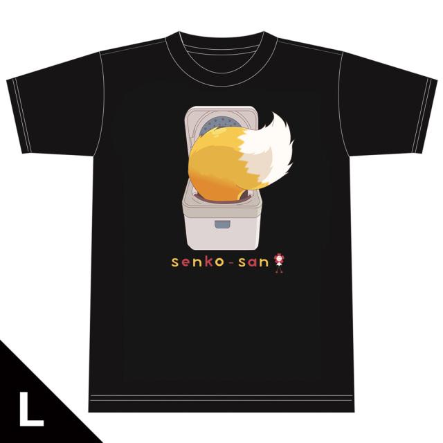 世話やきキツネの仙狐さん Tシャツ[炊飯器仙狐さん] Lサイズ