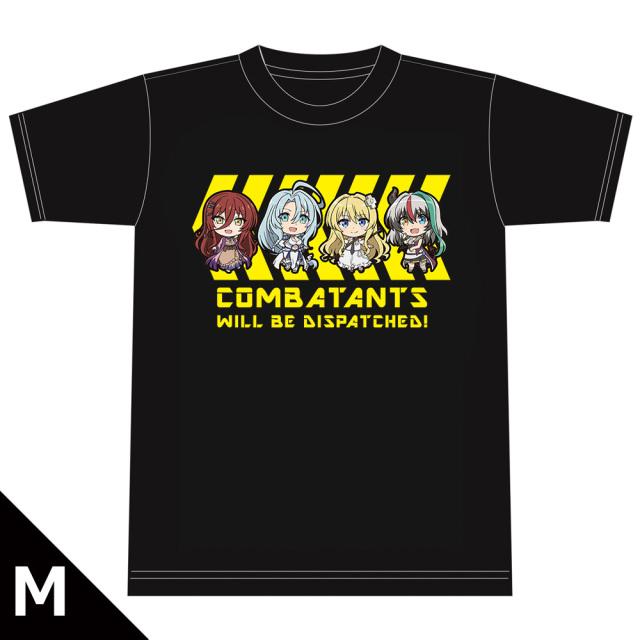 戦闘員、派遣します! Tシャツ[アリス&スノウ&ロゼ&グリム] Mサイズ