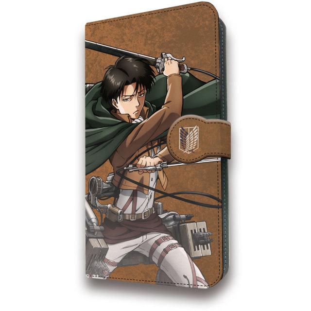 進撃の巨人 手帳型スマホケース リヴァイ