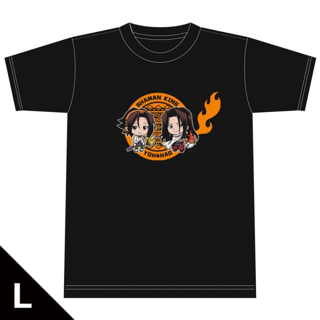 SHAMAN KING Tシャツ[葉&ハオ] Lサイズ