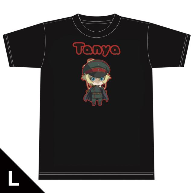 劇場版 幼女戦記 Tシャツ[ターニャ] Lサイズ