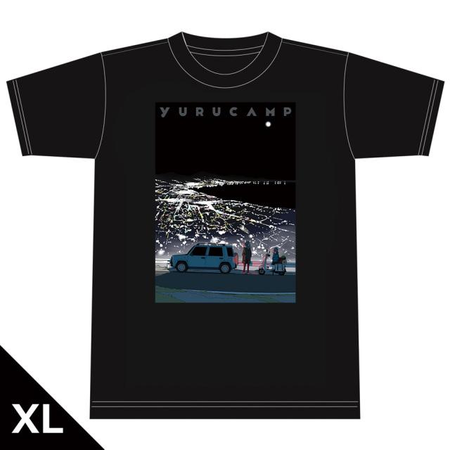 ゆるキャン△ TシャツE[リン&桜] XLサイズ