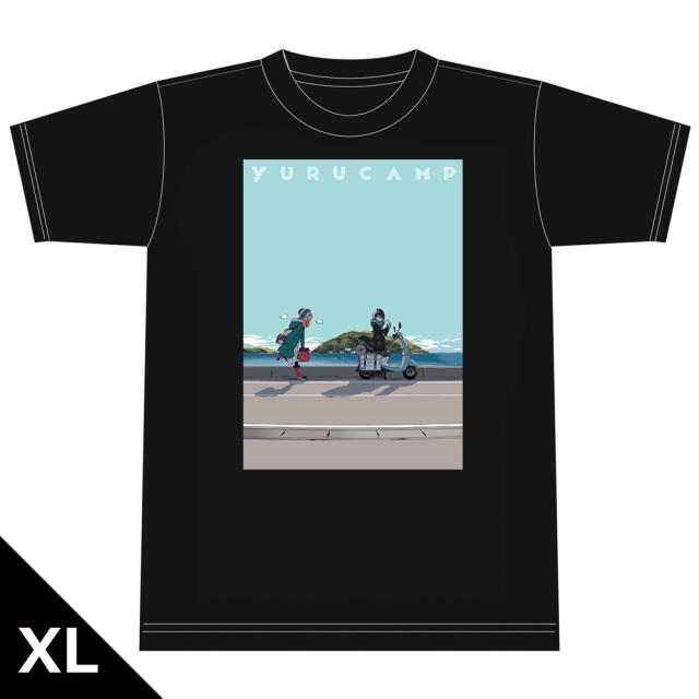 ゆるキャン△ Tシャツ[なでしこ&リン] XLサイズ