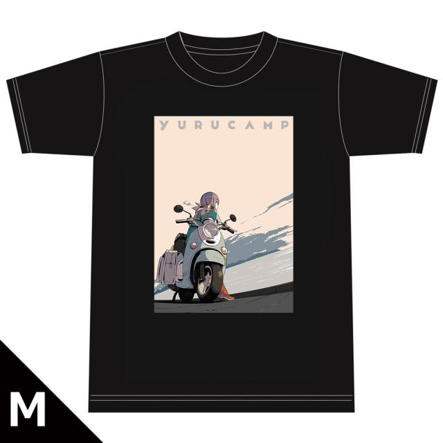 ゆるキャン△ TシャツC[志摩リン] Mサイズ