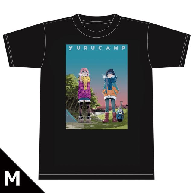 ゆるキャン△ TシャツD[なでしこ&リン] Mサイズ