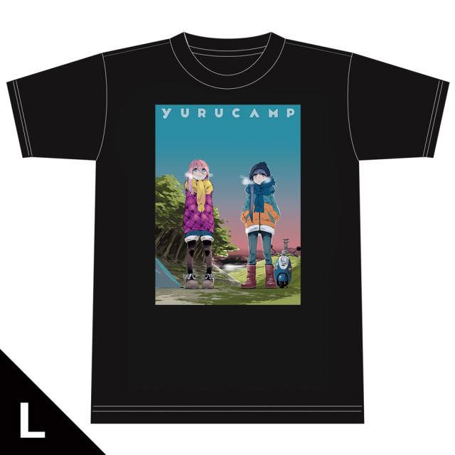 ゆるキャン△ TシャツD[なでしこ&リン] Lサイズ