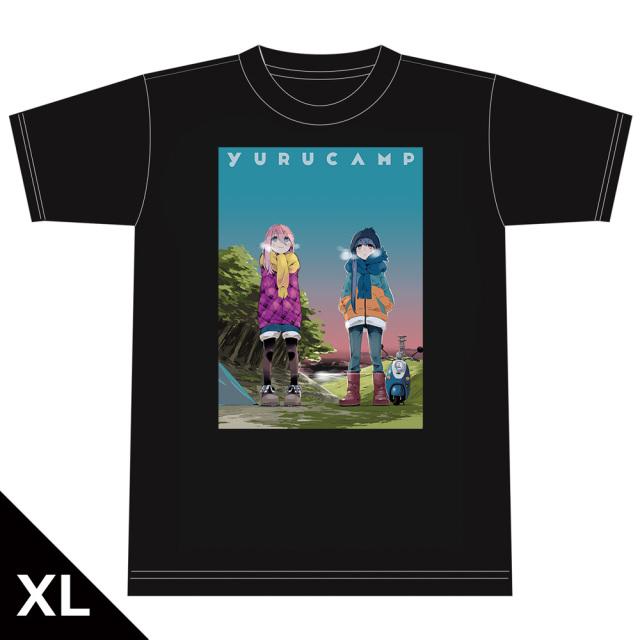 ゆるキャン△ TシャツD[なでしこ&リン] XLサイズ