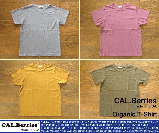 [CAL.Berries]カルベリーズ-オーガニックユニセックスTシャツ