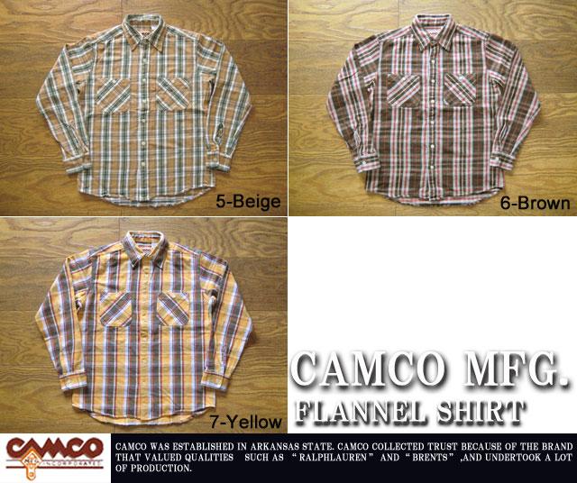 [CAMCO]カムコ-フランネルシャツ2011