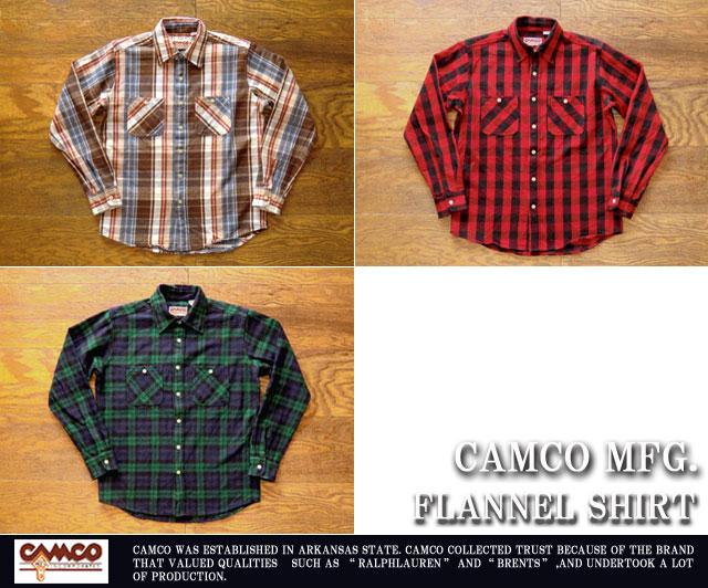 [CAMCO]カムコ-フランネルシャツ2015