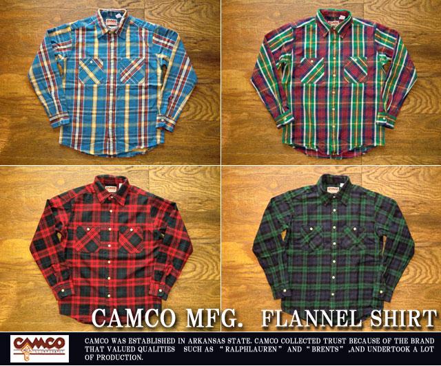 [CAMCO]カムコ-フランネルシャツ2016