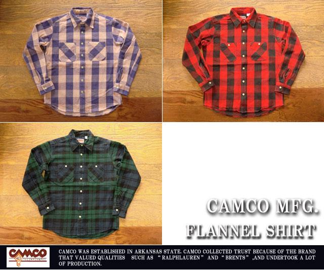 [CAMCO]カムコ-フランネルシャツ2020