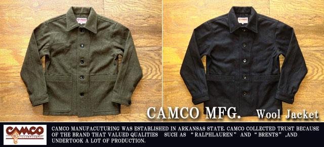 [CAMCO]カムコ-ウールワークジャケット