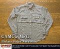 [CAMCO]カムコ-ヒッコリーストライプワークシャツ