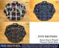 [FIVE BROTHER]ファイブブラザー-エクストラヘビーウエイトフランネルシャツ