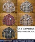 [Five Brother]ファイブブラザーヘビーフランネルシャツ