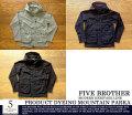 [FiveBrother]ファイブブラザー-製品染めマウンテンパーカ