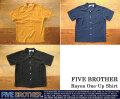 [FIVE BROTHER]ファイブブラザー-レーヨンワンナップシャツ