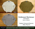 [Goldcrest Knitwear]ゴールドクレストニットウエア - ラグランクルーネックセーター