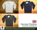 [Guensey Woollens]ガンジーウーレンズ-トラディショナルセーター