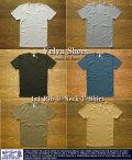ベルバシーン-1x1rib(フライス)UネックTシャツ