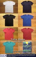[VelvaSheen]ベルバシーン-限定1pポケットTシャツ(クルーネック)