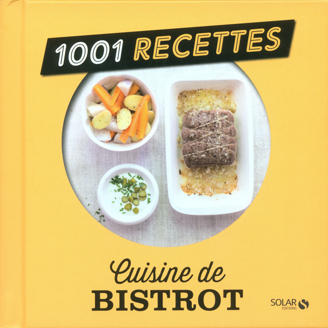 1001 RECETTES cuisine de BISTROT (フランス)