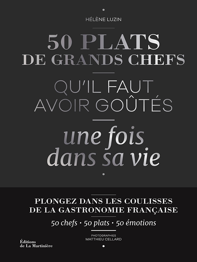 50 PLATS DE GRANDS CHEFS  (フランス)